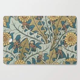 Art Nouveau Dandelion Pattern Cutting Board