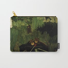 "Henri Rousseau ""Merry jesters"", 1910 Carry-All Pouch"