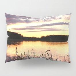 Sunset By The Lake - Summer Scene #decor #society6 #buyart Pillow Sham