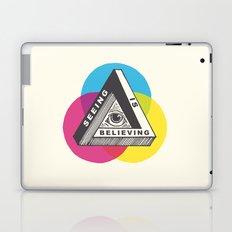 Seeing is Believing Laptop & iPad Skin