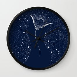 Star Collector Wall Clock