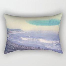 Aerial Daydreaming; zeppelin Rectangular Pillow