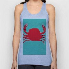 The Faceless Crab Unisex Tank Top