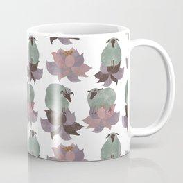 Pattern with sheeps 4 Coffee Mug