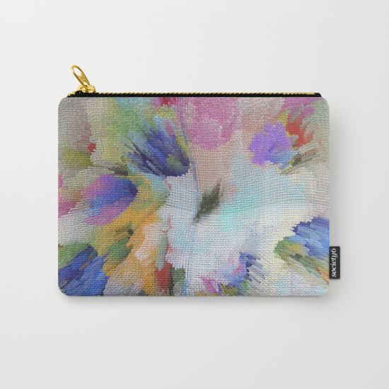 Abstract pattern 54 Carry-All Pouch