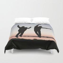 Sunset Jump Duvet Cover