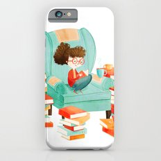 Read Books and Drink Tea iPhone 6 Slim Case