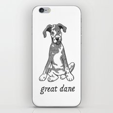 Dog Breeds: Great Dane iPhone & iPod Skin