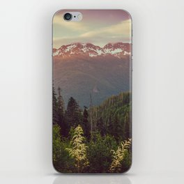 Mountain Sunset Bliss - Nature Photography iPhone Skin
