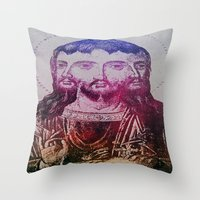christ Throw Pillows featuring Thrice Christ by EclecticArtistACS