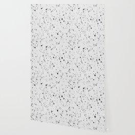 Abstract black white modern marble Wallpaper