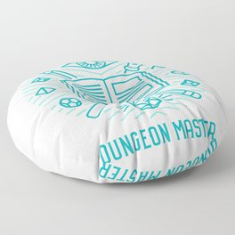 Dungeon Master Emblem Floor Pillow