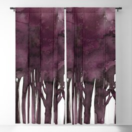 Tree Impressions No.1J by Kathy Morton Stanion Blackout Curtain