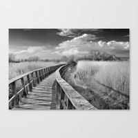 bridge Canvas Prints featuring Bridge by Guido Montañés