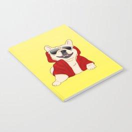 Stylin French Bulldog Notebook