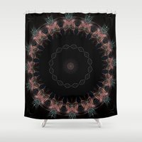 halo Shower Curtains featuring Halo by Silentwolf