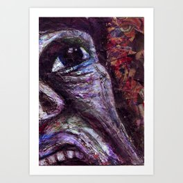 Is There Anyone Out There? Art Print