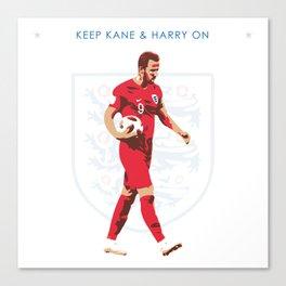 Harry Kane - Keep Kane & Harry On Canvas Print