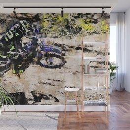 Wild Ride - Motocross Rider Wall Mural