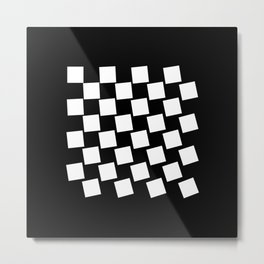Chess Collectible – Board (Globally Local Media) Metal Print