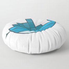 Docker Floor Pillow