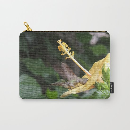 Hibiscus and Visitor Carry-All Pouch