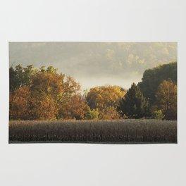 Autumn Cornfield Rug