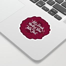 Mulled Wine Sticker