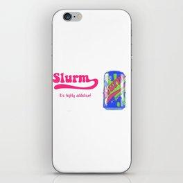 future ad Slurm iPhone Skin