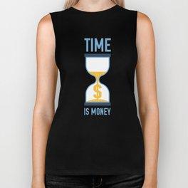 Time is Money Biker Tank