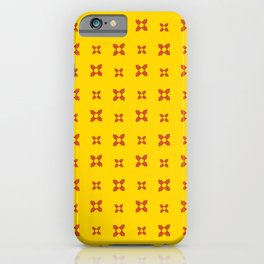 flag of new mexico 9 iPhone Case