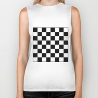 chess Biker Tanks featuring Chess by ArtSchool