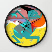 desert Wall Clocks featuring Desert by SMLE™