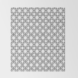 Arabesque 2 Throw Blanket