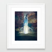 fault Framed Art Prints featuring It´s your fault by HappyMelvin