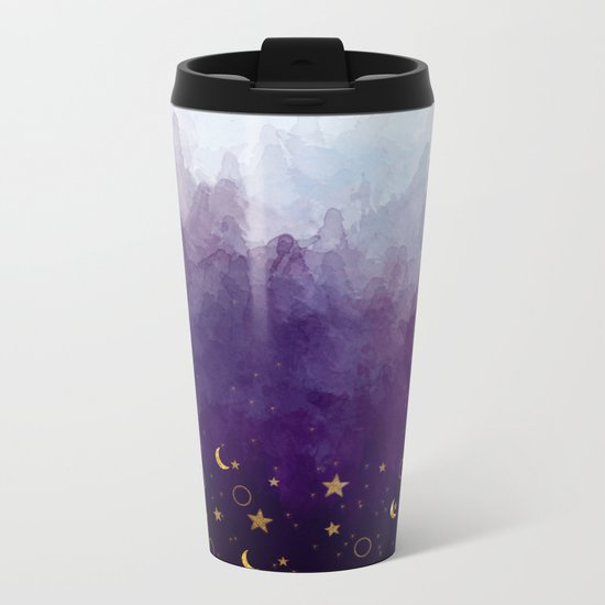 A Sea of Stars Metal Travel Mug