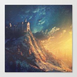 Edge of the World Canvas Print