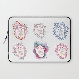 Phases of my heart Laptop Sleeve