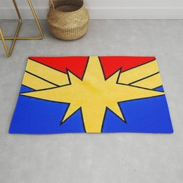 CaptainMarvel Old School Rug