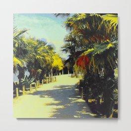 Palm Trees In Spain IV Metal Print