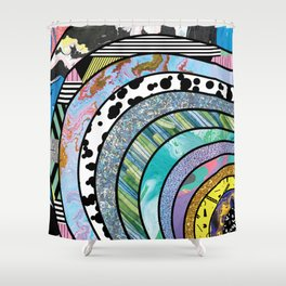 Indecisive Persona Shower Curtain