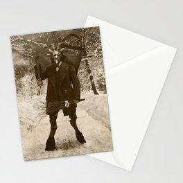 Dark Victorian Portrait: Krampus Stationery Cards