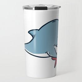 Guitar whale Travel Mug