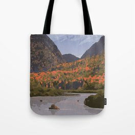 La Mauricie National Park Poster, Quebec Tote Bag