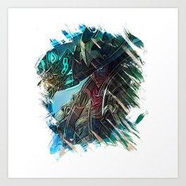 League of Legends TWISTED FATE Art Print