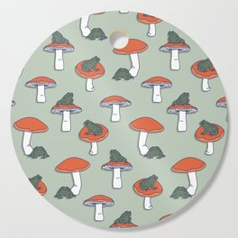 Toads & Toadstools Cutting Board