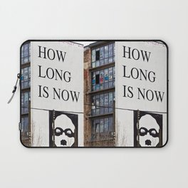 HOW LONG IS NOW - BERLIN Laptop Sleeve