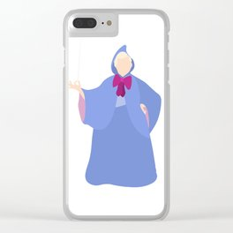 Fairy Godmother Clear iPhone Case