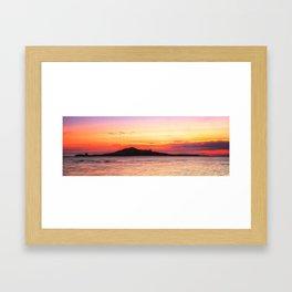 Sunrise at Howth Framed Art Print