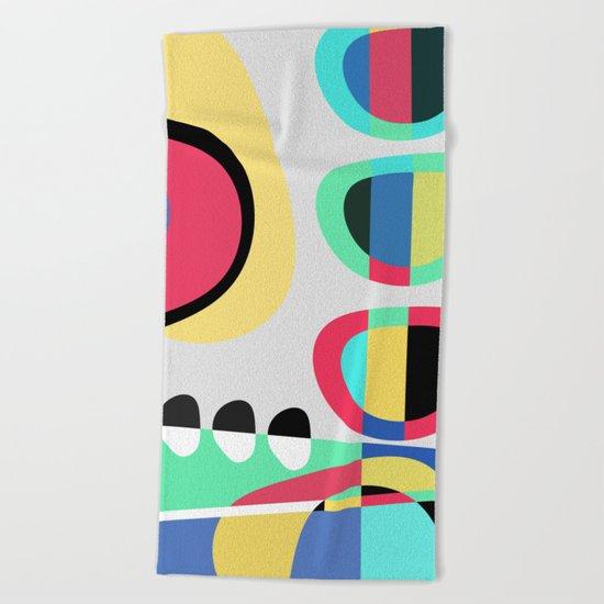 Naive VII Beach Towel